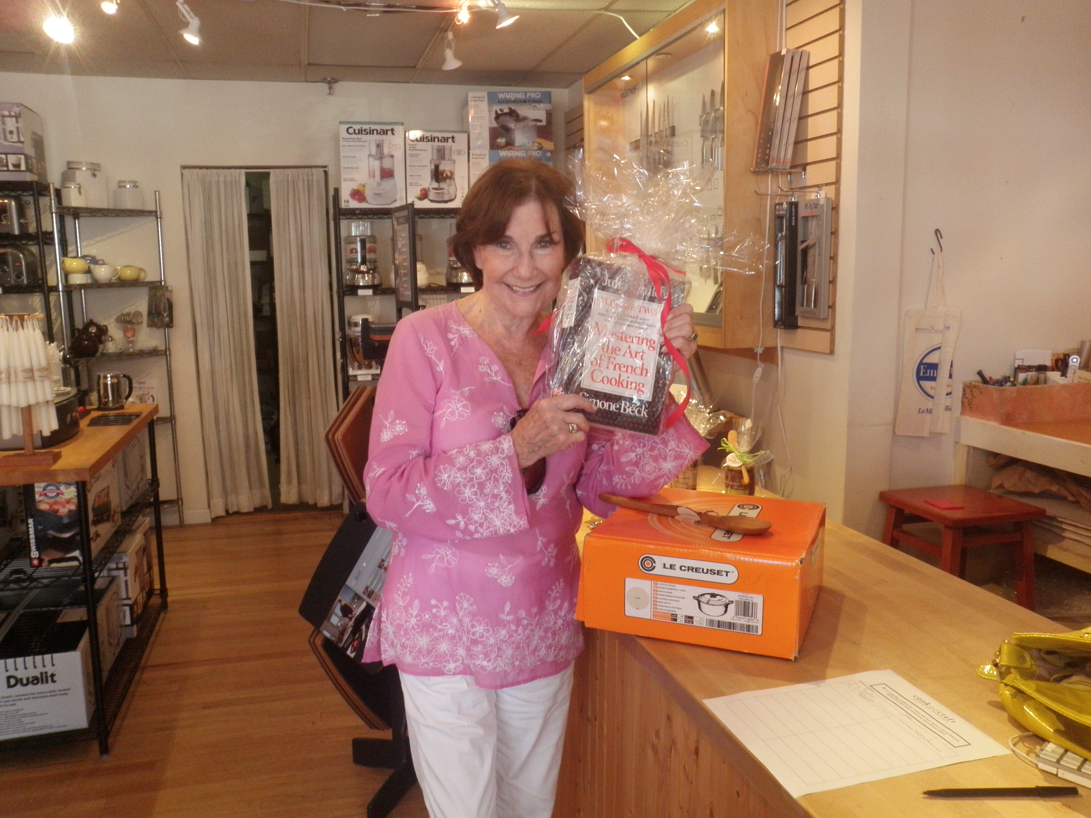 Lydia Auslander, the winner of our raffle prize worth over $300!