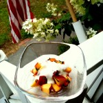 super simple summer fruit salad
