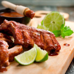 Yucatan-Style Baby Back Ribs with Spicy Cherry Glaze