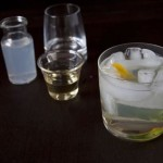 Refreshing herbal cocktail, to usher in Springtime