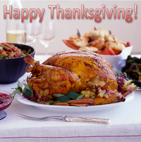 Happy Thanksgiving to our loyal customers, OG residents and beyond!